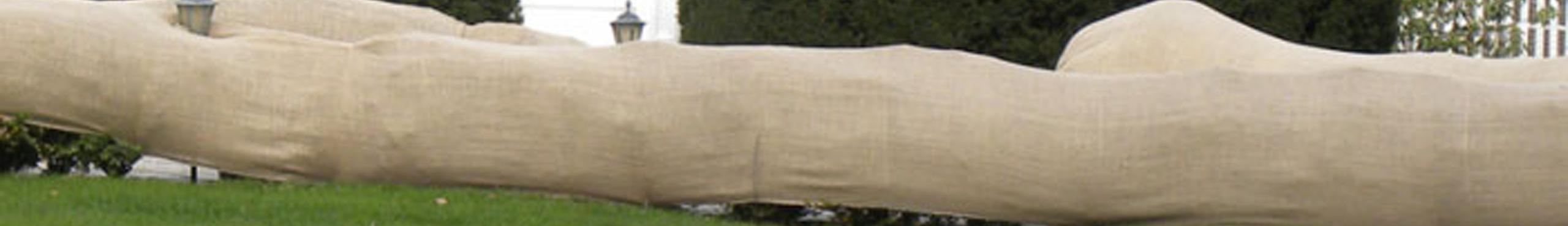 Daybag Burlap Windbreak Application