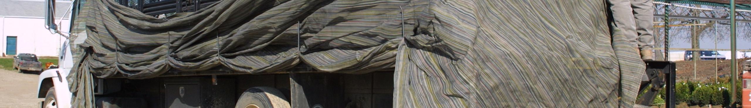 Industrial - Shade Fabric Tarp Lightweight Truck Covers